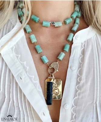 The Woods Fine Jewelry Amazonite Chain