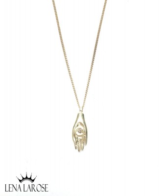 5 Octobre Hamsa Necklace