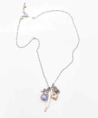 Chan Luu Heart Charm Necklace
