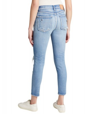 Moussy Light Blue Lenwood Skinny